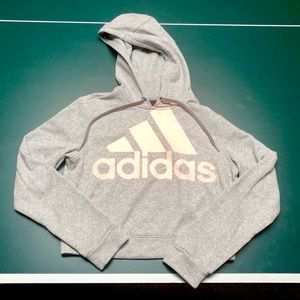 Adidas Crop Hoodie. Size small.